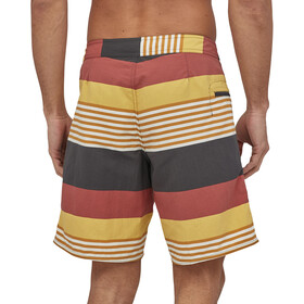 Patagonia Wavefarer Short de bain Homme, fitz stripe/surfboard yellow